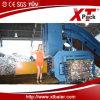 Papel usado de Automactic y prensa del plástico