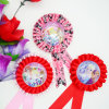 Ramillete artificial de la broche de la flor de la tela del festival caliente de la venta de la manera