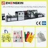 Sacos não tecidos de alta velocidade do punho Zxl-D700 que fazem a máquina