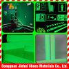 Cinta fotoluminiscente los films de PET Adhesivo para la cinta de escalera de seguridad