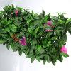 Rete fissa artificiale del fiore delle viti di plastica artificiali esterne dell'EDERA