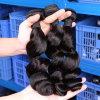 Rosa-Haarpflegemittel 4 Bündel lösen Wellen-brasilianische/peruanische/malaysische Jungfrau-Haar Remy Menschenhaar-Webart 100%