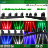 Livello elevato Significant Performance 100%Quality 4 Moving Heads Stage Beam Light