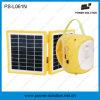 Двойной фонарик зеленого цвета высокой эффективности панели солнечных батарей с передвижным заряжателем