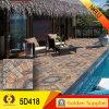 Keramikziegel-Fußboden-Fliese mit preiswertem Preis (5D418)