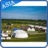 De reuze Opblaasbare Tent van de Koepel met Transparante Vensters