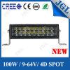 indicatori luminosi automatici eccellenti dei veicoli di Offraod della barra chiara di 100W 4D LED