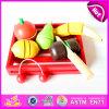 2015 hölzerne Ausschnitt-Spielwaren-Schnitt-Spiel-Frucht, Kind-Ausbildungs-Spielzeug-hölzerne Spielzeug-Ausschnitt-Frucht, interessantes Ausschnitt-Frucht-Spielzeug W10b122