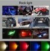 Mini LED Rock Light, 3W Amber LED Work Light Rock Light voor ATV van Road