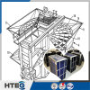 Alto cestino degli elementi riscaldanti di risparmio di temi termico per il preriscaldatore di aria rotativo