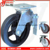 8 Inch Standard Top Plate Scaffold Caster mit Rubber Wheel