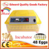 Prezzo poco costoso automatico portatile dell'incubatrice dell'uovo del pollo