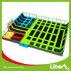 Parc d'intérieur adapté aux besoins du client de trempoline de Liben de conception avec des cercles de basket-ball