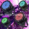 la IGUALDAD impermeable al aire libre de 54X3w RGB 3in1 LED puede encenderse