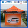 3X3重義務Waterproof Half Side Wall Gazebo Canopy