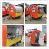 Calle del perrito caliente de la fuente de China Vending el carro/el carro móviles del alimento