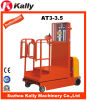 高度のバケツの車輪の電気回収器のスタッカー(AT3-3.5)