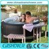 Tina plástica del baño al aire libre grande barato (pH050010)