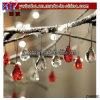 El vidrio soluble gota árbol de Navidad Adornos de boda fiesta Deco (CH8080)