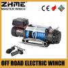 4WD 4X4 del cable del camino 12500lbs que tira del torno con la cuerda sintetizada