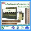 Máquina da imprensa de frame da porta do metal