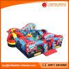 Riesige militärische aufblasbare Spielplatz-Spaß-Messe-Stadt für Unterhaltung (T6-102)