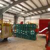 Costruzione della caserma dei pompieri della struttura del metallo con il rullo sul portello