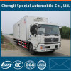 판매를 위한 4X2 8tons Cargo Box 밴 Refrigeration Truck