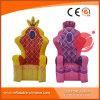 Présidences gonflables P1-002 de sofa de roi et de Reine