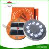 Notleuchte-Magnet des Portable-10 LED Solar für das Innen-/im Freiengebrauch-kampierende Wandern