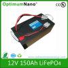 De diepe Batterij van het Lithium van de Cyclus 12V 150ah voor de Toepassing van rv