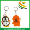 PVC пластичное Keychain изготовленный на заказ горячего типа изготовления мягкий с логосом