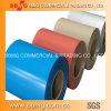 Material para techos de acero galvanizado A653 de ASTM Steel/PPGI Coil/PPGI con 750-1250mmwidth