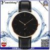 Vigilanze di abitudine dell'orologio dell'orologio delle donne delle signore del cuoio genuino del quarzo di stile di Dw della vigilanza degli uomini di modo di disegno semplice Yxl-264