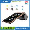 Máquina Handheld basada androide del boleto con el lector de tarjetas de NFC (ZKC PC900)