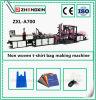 Sac réutilisable non tissé de tissu faisant des machines évaluer (ZXL-A700)