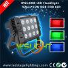 屋外の装飾のための高い発電LEDのフラッドランプ200W RGB 12PCS*15Wの穂軸LEDs