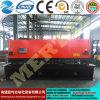 선전용 CNC 공작 기계 유압 단두대 격판덮개 깎는 기계 또는 장 절단기 16*6000mm