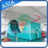 curso de obstáculo inflable grande al aire libre del OEM del encerado del PVC de 0.55 milímetros