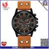 Yxl-135 relojes dobles duales del cuarzo de la hebilla del acero inoxidable del hombre de la insignia ODM/OEM