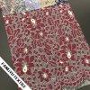 Tessuto di lavoro a maglia del merletto del fiore caldo di vendita 2017 per l'indumento
