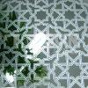 Dekorativer Edelstahl-Blatt-Radierungs-Farben-Höhenruder-Dekor