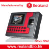Realand 생물 측정 지문 센서 시간 출석 시계 기록병