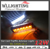 Amber White Warning Flash Strobe Waterproof LED Light Bar