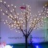 Luzes artificiais impermeáveis claras da árvore da árvore de Natal do feriado
