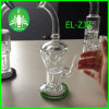 Hollow Honeycomb Perc Glass Pipe. Honeycomb Waterpipe