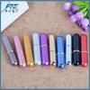 De mini 5ml Fles van de Nevel van de Verstuiver van het Parfum van de Nieuwe vulling van het Aluminium