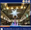 Heet verkoop Zaal, de Decoratie die van de Hal Opblaasbare Ster met LEIDEN Licht voor Verkoop aansteekt
