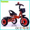O triciclo plástico do assento da alta qualidade caçoa o triciclo do miúdo do frame do metal da bicicleta para a venda