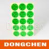 緑のRoHSの互換性のある印刷されたステッカーのラベル